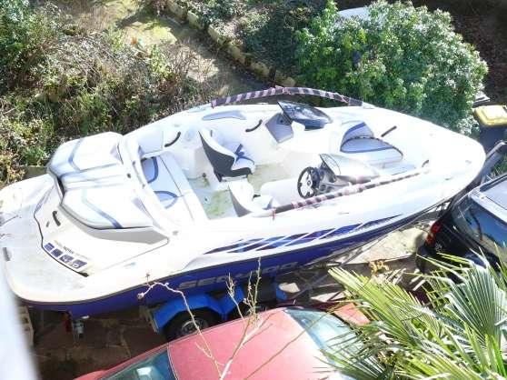 bateau seadoo speedster 430 cv 2 moteurs  u00e0 sucy