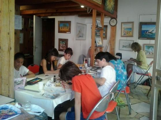 stage de dessin et  peinture à la carte - Annonce gratuite marche.fr
