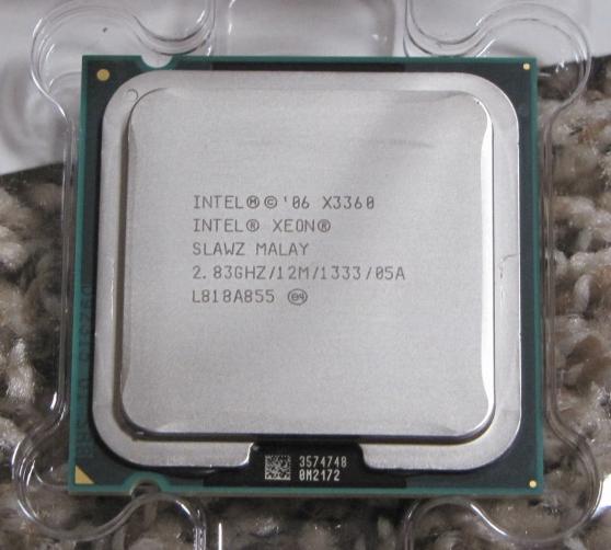 Intel Xeon X3360 2.83 GHz 12M 1333MHz