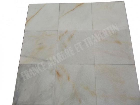 marbre blanc bianco giallo 40x40 cm - Annonce gratuite marche.fr