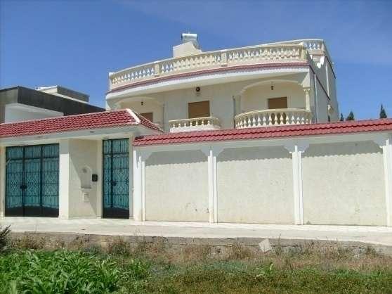 villa corniche bizerte en tunisie immobilier location villas tunisie tunis reference imm. Black Bedroom Furniture Sets. Home Design Ideas
