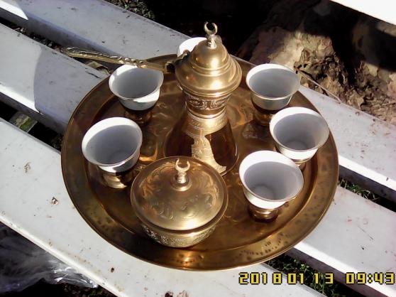 Service à thé - café originaire d'Afriqu