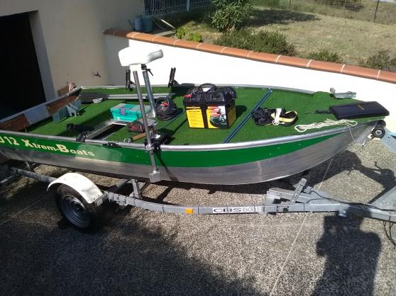 barque de pêche en aluminium - Annonce gratuite marche.fr
