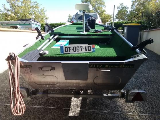 Barque de pêche en aluminium - Photo 2