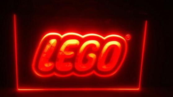 Enseigne lumineuse Lego