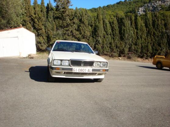 Maserati Biturbo 422 de 1988 blanc