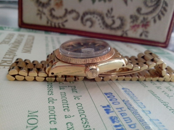 Montre Rolex femme Oyster Perpetual Date - Photo 3