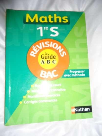 Annonce occasion, vente ou achat 'guide ABC math 1ere S'