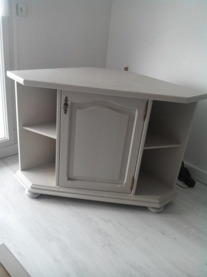 Meuble d'angle + table de salon