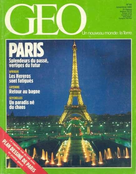Annonce occasion, vente ou achat 'Lot 3 GEO : Paris et Versailles - Nos 93'