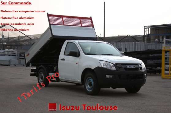 isuzu d max 2 5 tdi benne basculante auto utilitaires toulouse reference aut uti isu. Black Bedroom Furniture Sets. Home Design Ideas