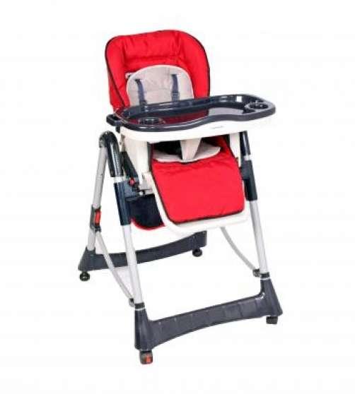 Annonce occasion, vente ou achat 'BebeQO chaise haute Uni rouge à €70,-'