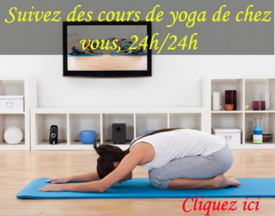 Suivez des cours de yoga de chez vous, 2