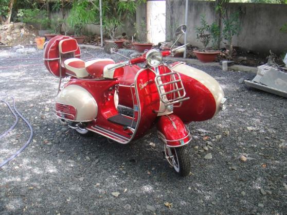 1961 VESPA SIDECAR VBB150