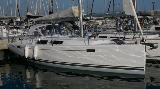 Location voilier Hanse 385 Marseille