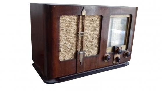 Poste radio TSF vintage