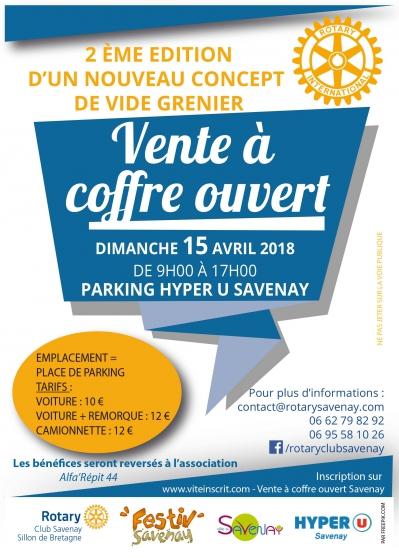 vente à coffre ouvert - Annonce gratuite marche.fr