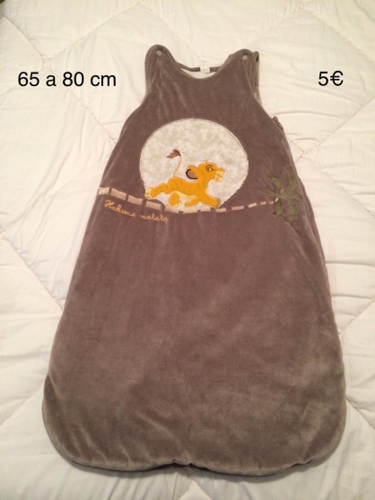 Annonce occasion, vente ou achat 'GIGOTEUSE VELOURS 65 A 80 CM'