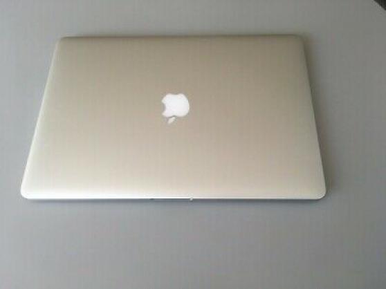 Annonce occasion, vente ou achat 'Apple MacBook Pro Retina 15 \