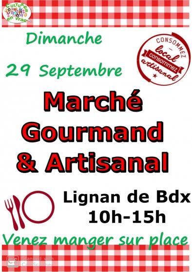 Annonce occasion, vente ou achat 'Marché gourmand et artisanal 29/09/19'