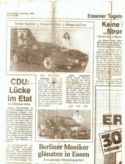 developper en europe un prototype auto - Photo 3