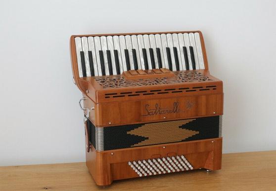 Annonce occasion, vente ou achat 'Accordéon Piano SALTARELLE CLEGGAN 72 b'