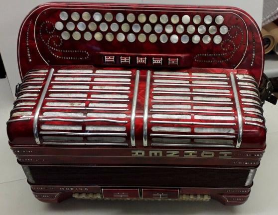 Annonce occasion, vente ou achat 'accordéon Hohner Morino 46 et extension'
