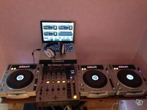 Ensemble pioneer platines table de mix