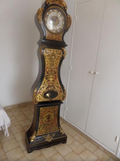 """Horloge de parquet style """" BOU8LLE """""""