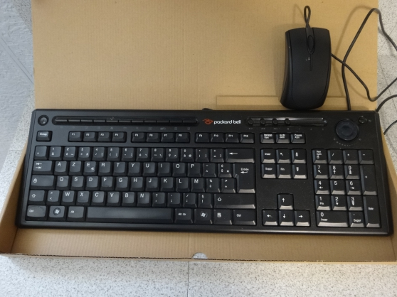 Annonce occasion, vente ou achat 'CLAVIER PACKARD BELL + SOURIS'