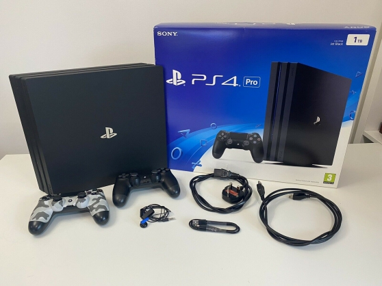 Sony Playstation 4 Pro 1 To console