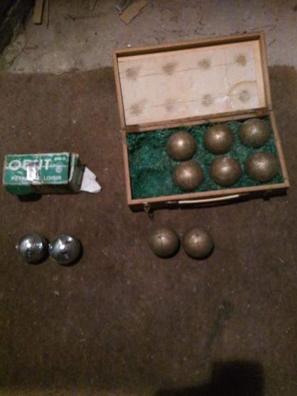 Annonce occasion, vente ou achat 'boules de petanque'