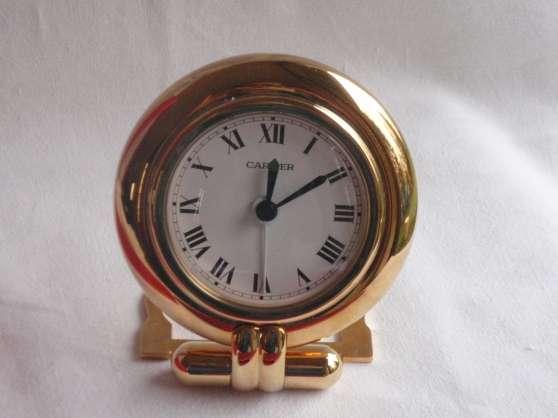 Annonce occasion, vente ou achat 'Pendulette Must de Cartier'