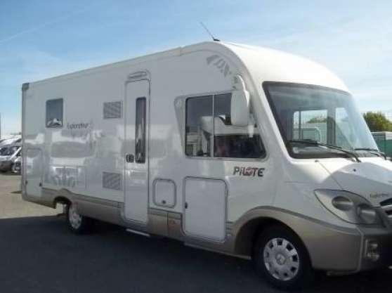 Annonce occasion, vente ou achat 'Camping car Pilote G743LC Explorateur'