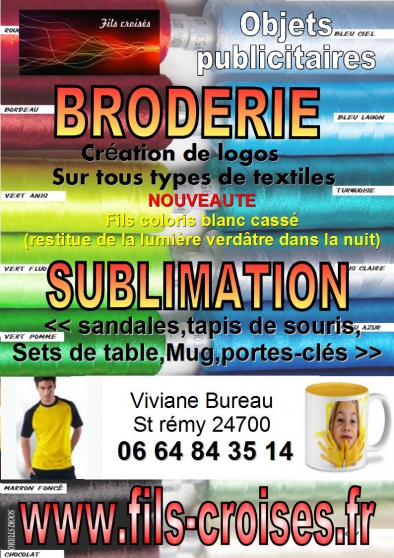 BRODERIE & SUBLIMATION