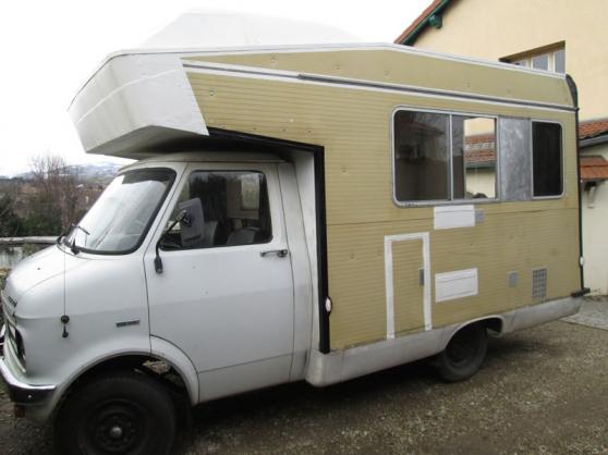 bedford renov caravanes camping car camping car mornant reference car cam bed petite. Black Bedroom Furniture Sets. Home Design Ideas