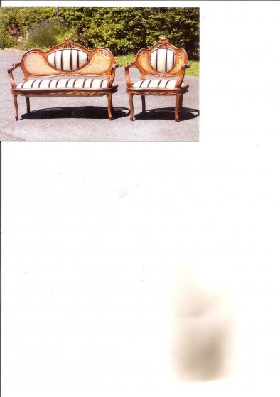 ensemble canap fauteuil antiquit art brocantes meubles anciens lyon reference ant. Black Bedroom Furniture Sets. Home Design Ideas