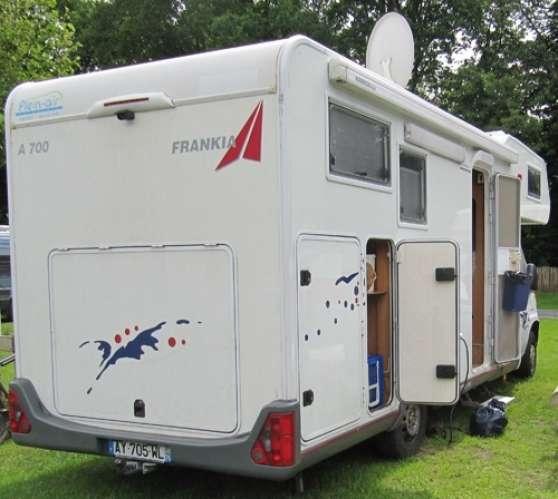 camping car frankia capucine la rochelle caravanes camping car camping car la rochelle. Black Bedroom Furniture Sets. Home Design Ideas