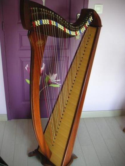 Harpe korrigan 34 cordes