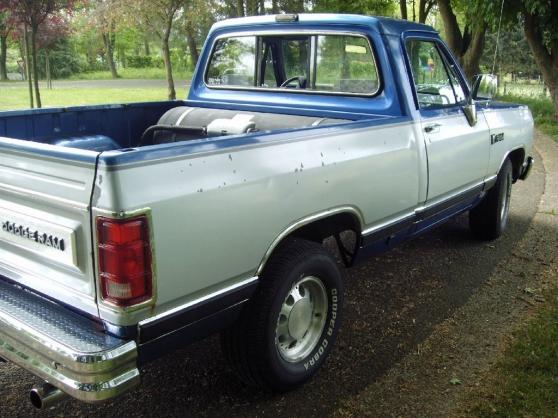 Annonce occasion, vente ou achat 'Dodge Ram D150'
