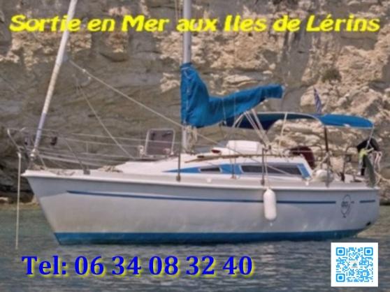 Sortie en mer sur VOILIER aux Iles !