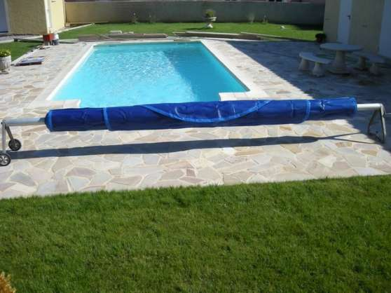 B che bulles neuve et son enrouleur jardin nature - Enrouleur bache piscine occasion ...