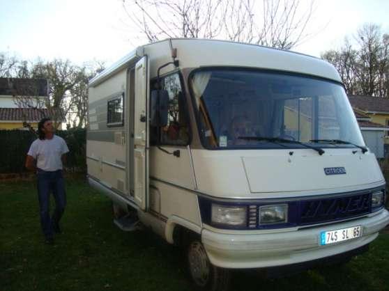 camping car hymer integral citroen c25 caravanes camping car camping car hymer tarbes. Black Bedroom Furniture Sets. Home Design Ideas