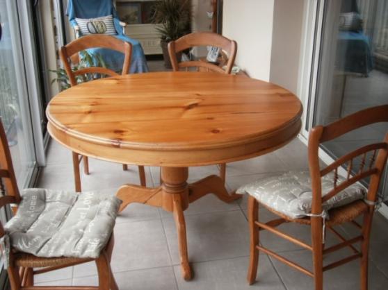 table en pin ancien - Annonce gratuite marche.fr