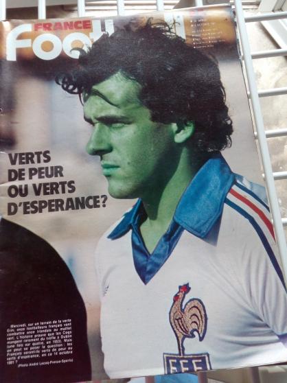 Annonce occasion, vente ou achat 'revues france football tres bon etat'