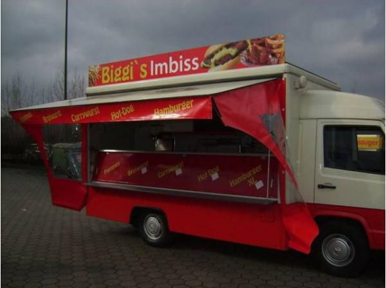 camion snack mercedes benz mb 100 - Annonce gratuite marche.fr