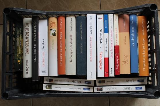 Annonce occasion, vente ou achat 'Lot livres d\'occasion'
