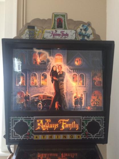Annonce occasion, vente ou achat 'Flipper famille Addams'