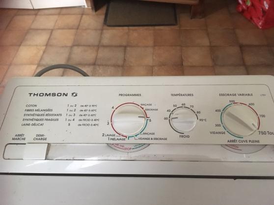 Annonce occasion, vente ou achat 'machine a laver ouverture dessus'