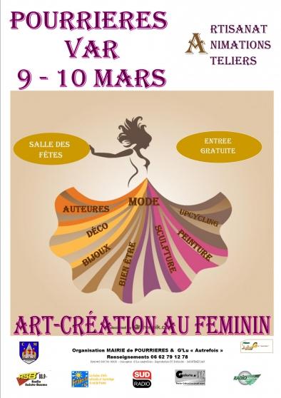 salon creations au feminin - Annonce gratuite marche.fr